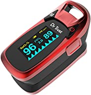 Dr Trust Professional Series Finger Tip Pulse Oximeter With Audio Visual Alarm and Respiratory Rate (RED)