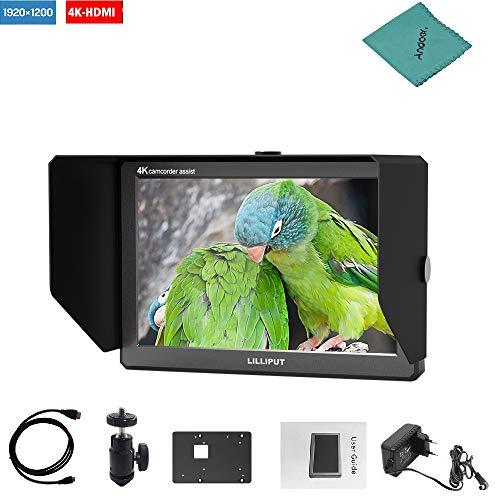 Lilliput A8S 8.9 Zoll Kamera Monitor IPS 1920 * 1200 Field Monitor Support HDMI 3G-SDI Signalübertragung Feldmonitor für Camcorder DSLR