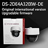 HITSAN Free Shipping English Version ds 2de4a320iw de 3mp Network ir Mini ptz Camera 3D Intelligent Positioning Function