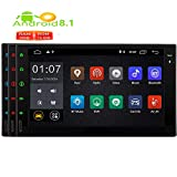 EINCAR Android 8.1 Oreo Auto-Stereosystem mit Doppel-DIN-Video-Audio-Player GPS-Navigation WiFi Autoradio Bluetooth-Unterst¨¹Tzung USB/SD/Mirrorlink/FM/AM-Radioempf?nger in Dash 1080P optiona