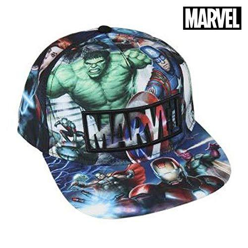 Avengers-2200002043 Gorra premium New Era, 58 cm, Color (Multicolor 001), 3 (Tamaño del fabricante:M) (Artesanía Cerdá 2200002043