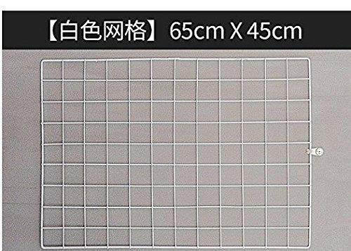 wire mesh mur,white 45 * 65 cm