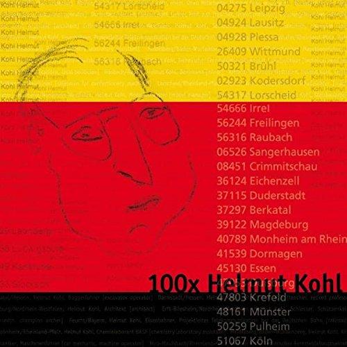 100x HELMUT KOHL