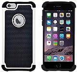Custodia iPhone 6 Plus / 6S Plus, G-Shield Custodia Massima Protezione [Anticaduta] [Antiscivolo] [Antigraffio] Protettiva Antiurto Case Cover Per Apple iPhone 6 Plus / 6S Plus - Bianco