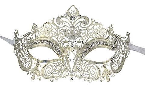 Bal Costumé Décorations - Cristaux Laser Cut métal sur les yeux