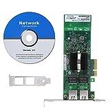 Wendry Scheda di Rete PCI-E Gigabit, 10/100 / 1000mbps Versione a Doppia Porta Gigabit LAN Protezione da fulmini Scheda di Rete Wireless con dissipatore di Calore per PC Desktop