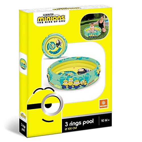 Speelgoed 16484 – Minions Schwimmbad, 100 cm 3 rings - 3
