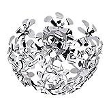 Design Blumen Deckenleuchte Halogen Chrom, 3x G9Warmweiß r61913106370lm