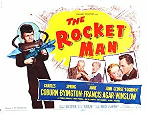 Reproduction of a poster presenting - Rocket Man 02 - A3 Poster Print Buy Online