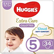 Huggies Extra Care Pants - Size 5, 12-17 kg, 34 Diaper Pants