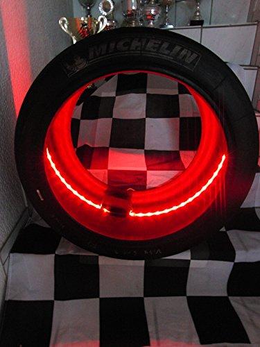 Reifen Art (Slick/Rennreifen, DTM, GT 3, Formel.. mit LED Beleuchtung, Motorsport Geschenk,)