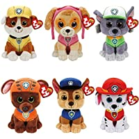 TY-PAW PATROL Complete set of 6 Characters