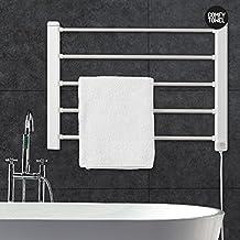 Thermic Dynamics Comfy Towel Toallero Eléctrico de Pared, Metal, Blanco, 60 x 43 cm