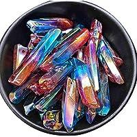 Parz Crystal Stone Behandlung Stein Fluorit Reine natürliche Bunte Gestreifte Stein Crystal Column Home Decor preisvergleich bei billige-tabletten.eu