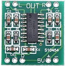 DROK® Stereo Mini amplificatore digitale Classe D Consiglio 2 canali, PAM8403 Chips 3W + 3W Audio Stereo controller regolabile, amplificatore audio per la TV / monitor / computer portatile / telefono / altoparlante