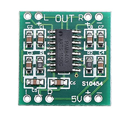 DEOK Mini Digital Amplifier Board 3W+3W PAM8403 Chips Audio Stereos