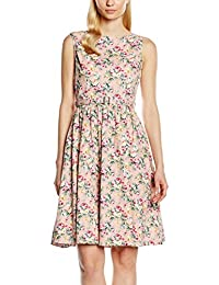 Lindy Bop Damen Kleid Audrey Peach Floral