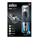 Braun HC5090 Tondeuse à Cheveux, 17 longueurs de coupe