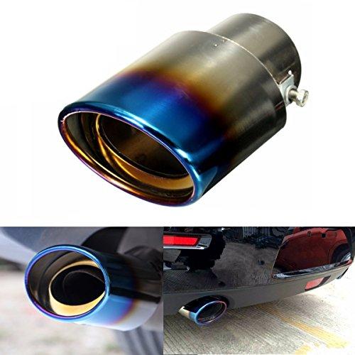 YONGYAO 1Pcs Universal Car Auto Edelstahl-Auspuff Muffel-Endrohr Modifikation