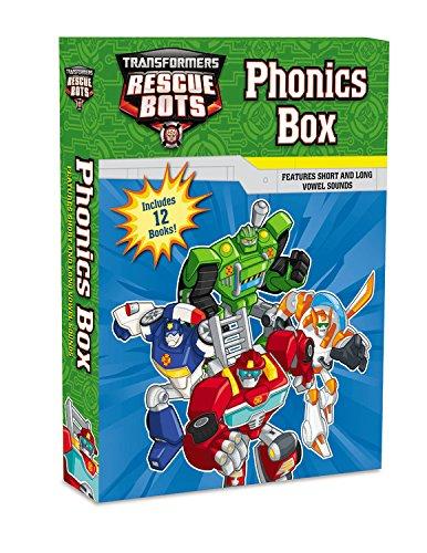 Transformers Rescue Bots: Phonics Box por Lucy Rosen