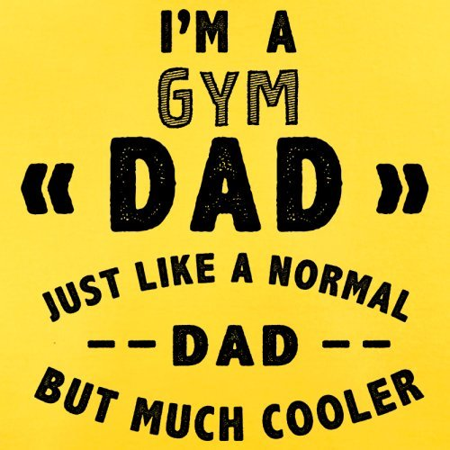 Im-A-Gym-Dad-Mens-T-Shirt-13-Colours