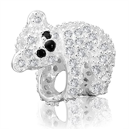 ANDANTE - Premium Collection - 925 Sterling Silber Kristall Bead