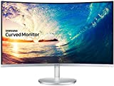 Samsung C27F591F 27' Full HD VA Plata, Color blanco - Monitor (1920 x 1080 Pixeles, LCD, Full HD, VA, 1280 x 720 (HD 720), 1920 x 1080 (HD 1080), 3000:1)