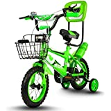Baybee Strom Freestyle Kids Bike | Boys Bikes And Girls Bikes With Training Wheels And Basket, 12 Inches, Gifts For Children