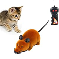 Twshiny Wireless Remote Control RC Rat Mouse Toy For Cat Dog Pet Novelty Gift Funny