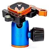 3 Legged Thing Equinox AirHed Switch Kugelkopf, Schnellwechselplatte kompatibel mit Arca, 34 mm, 314 g, 40 kg