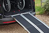 Durabe Aluminium Multi-fold Wheelchair Ramps - Black Grip (10)