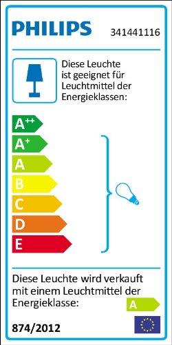 Philips-Swim-Lampada-Cilindro-Bagno-Parete-Vetro-e-Cromo-Lampadina-Inclusa