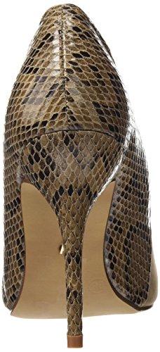 pêssego Cinza Calzado Senhoras Maria Base Sapatos I 2016 Égua Senhora De Saltos Com Cinza Fechado Castanhos Serpiente Ox04n