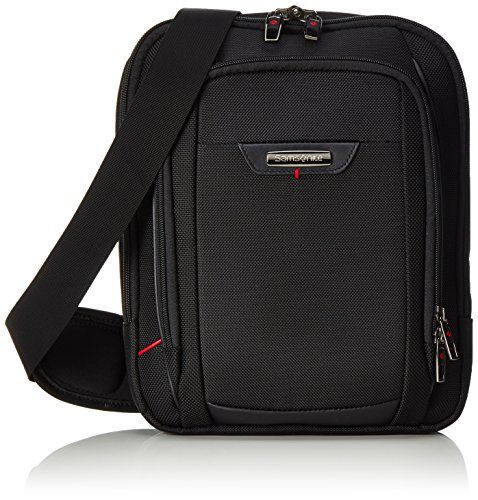 "Samsonite Pro-Dlx 4 Tablet Cross-Over Bolso bandolera, 7""-9.7"", 7 L, Color Negro"