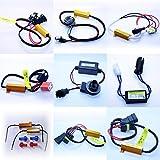 2x ALLE Lastwiderstände - LED Widerstand Widerstände keine Fehlermeldung T10 HB4 Ba15s - Bau15s - 3157 - Bay15d - 3157-7440 - 7443 H7 (2x Bau15s)