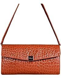 Pavini Women's Clutch (Orange) (1026-07)