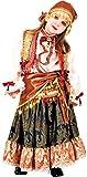 chiber Disfraces Disfraz de Niña Zíngara (Talla 8)