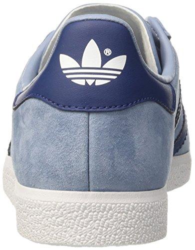 adidas Gazelle, Scarpe da Ginnastica Basse Donna Blu (Tactile Blue/mystery Blue/ftwr White)