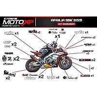 Moto GP MOTORRAD laminiert Aufkleber Aprilia 250 GP 46