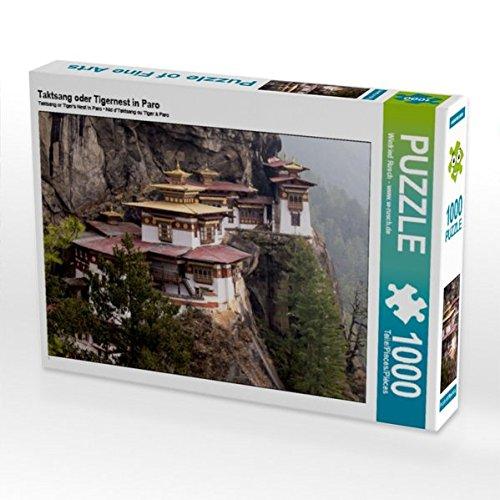 Taktsang oder Tigernest in Paro 1000 Teile Puzzle quer (CALVENDO Orte) Preisvergleich