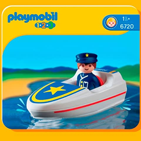 Playmobil 6720 1.2.3 Coastal Search and Rescue