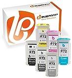 Bubprint 6 Druckerpatrone kompatibel für HP 72 C9370A C9403A C9371A C9372A C9373A C9374A für DesignJet T1200 T1300 T610 24 Inch T620 T770 T790 T795