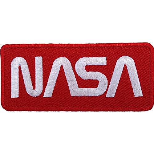 NASA Patch Bestickt Eisen nähen auf Astronaut Spaceman Kostüm (Nasa Bestickte Kostüm)