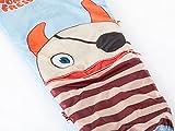 Skandika Sorgenfresser Schlafsack für Kinder mit großer Tasche (bis -12°C) (Flint) -