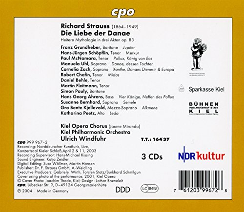 Richard Strauss: Die Liebe der Danae