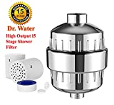 Dr. Water Shower Filter For Well Hard Boosts Skin, Hair Health with Softener