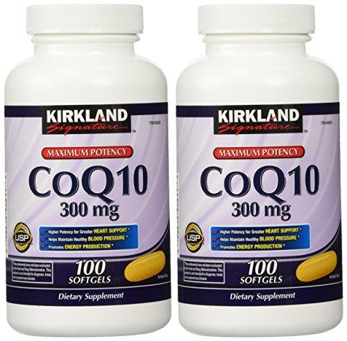 Kirkland Signature CoQ10 300 mg, 200 (Mantenere Pressione Sanguigna)