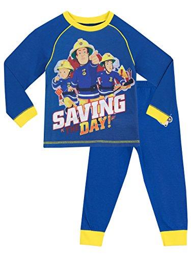Sam el Bombero - Pijama para Niños - Fireman Sam - 4 - 5 Años