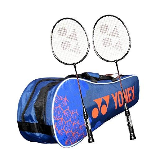 Yonex YKBRC-SUNRNAVY-GRBLK2 Badminton Combo Kit (Navy)