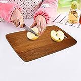 M&M 15X11-Inch Wooden Chopping Board Cutting Board Handed Handle